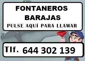 Fontaneros Barajas Madrid Urgentes