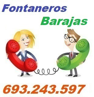 Telefono de la empresa fontaneros Barajas