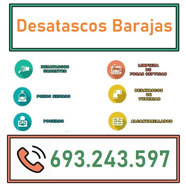 Desatascos Barajas